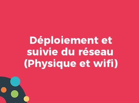 Déploiement et suivie du réseau (Physique et wifi)